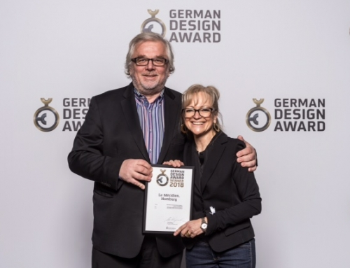 """Le Méridien Hamburg mit dem """"German Design Award 2018"""" ausgezeichnet"""