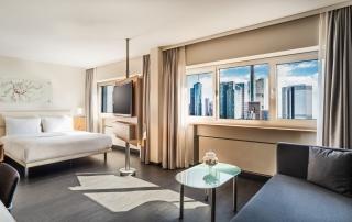 Le Meridien Hotel Frankfurt Deluxe Room