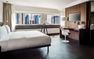Le Meridien Hotel Frankfurt Skyline Suite Bedroom