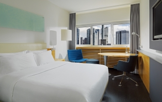 Le Meridien Hotel Frankfurt Superior Room Skyline View