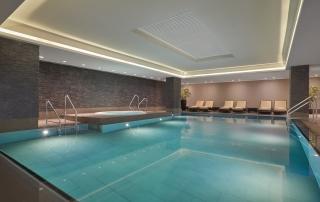 Le Meridien Hotel Hamburg Spa Pool