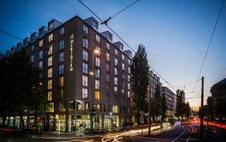 Le Meridien Hotel München Außenansicht Gesamt