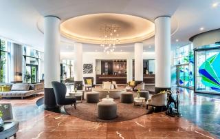 Lobby Le Meridien Hotel Munich