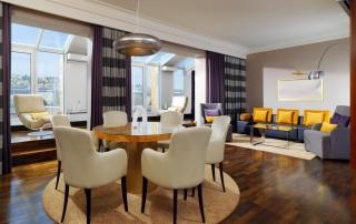 Le Meridien Hotel Stuttgart Presidential Suite Living Room