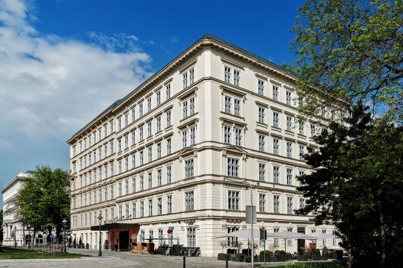 Le Meridien Hotel Wien Außenansicht