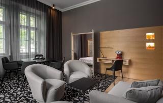 Le Meridien Hotel Wien Executive Suite Livingroom