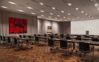 Le Meridien Tagungshotel Wien Tagungsraum Flaming Red Classroom