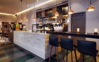 Restaurant Le Meridien Hotel Hamburg Bar Latitude