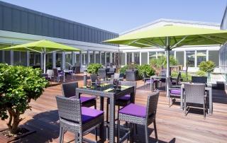 Restaurant Sheraton Düsseldorf Airport Otto Sommerterasse