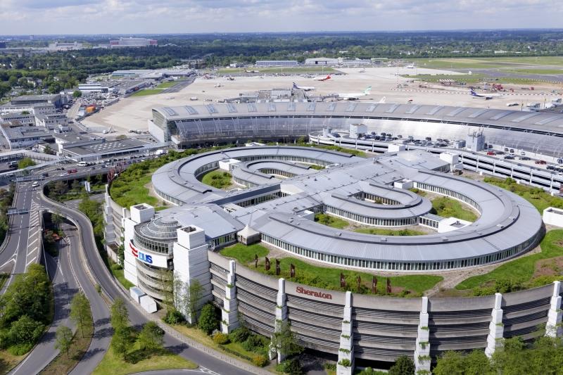 Sheraton Hotel Düsseldorf Airport Außenansicht