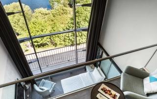 Duplex Suite im Le Méridien Hotel Hamburg an der Außenalster