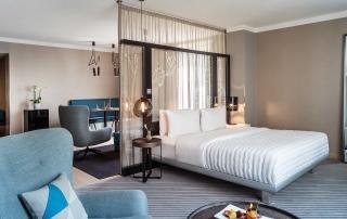 Junior Suite im Le Méridien Hotel Hamburg