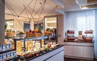 Frühstücksbuffet im Le Méridien Hotel Frankfurt