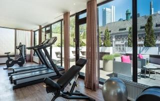 24/7 Fitness im Le Méridien Hotel Frankfurt