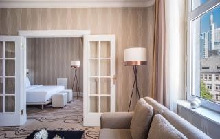 Junior Suite des Le Méridien Hotels Frankfurt