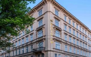 Außenansicht Le Méridien Hotel Wien