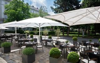 Restaurant You Sommer Terrasse - Le Méridien Hotel Wien