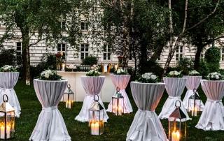 Heiraten in Wien - Abendstimmung im Schillerpark - Le Méridien Hotel Wien