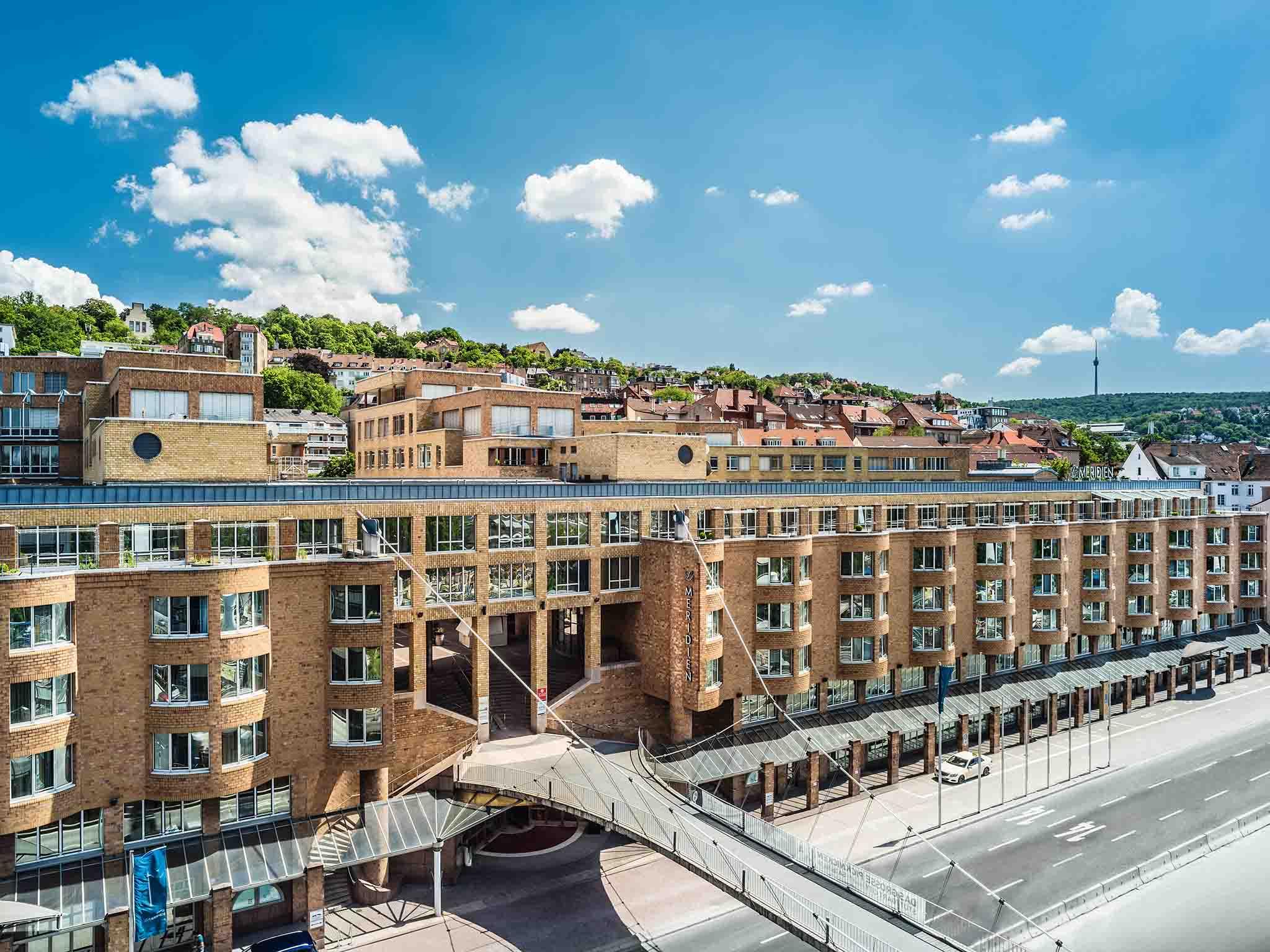 Außenansicht Le Méridien Hotel Stuttgart
