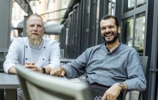 Team The Legacy Frankfurt: Le Méridien Hotel