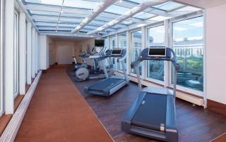 Fitness Bereich des Sheraton Düsseldorf Airport Hotel