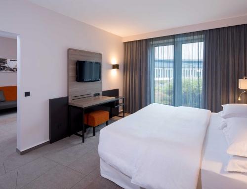 Mehr Platz, mehr Komfort: Drei neue Suiten im Sheraton Düsseldorf Airport Hotel