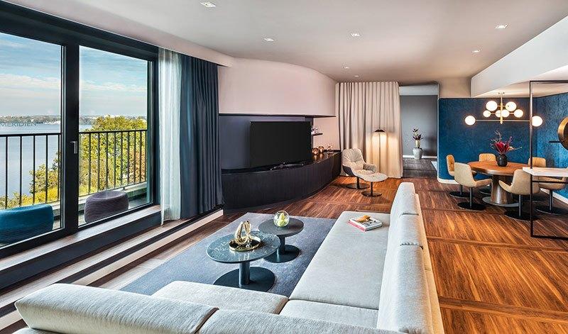 Neue Suiten mit Alsterblick im Le Méridien Hotel Hamburg